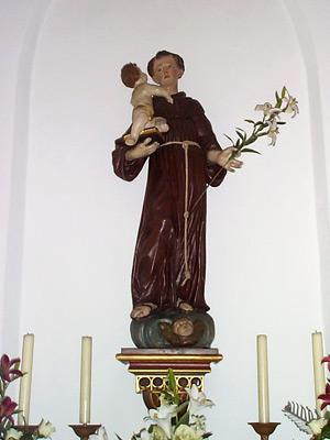 Der heilige Antonius